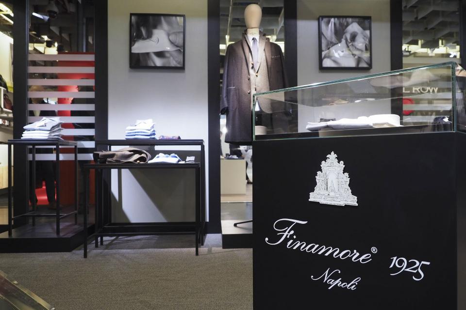 Магазин мужской одежды «Finamore»