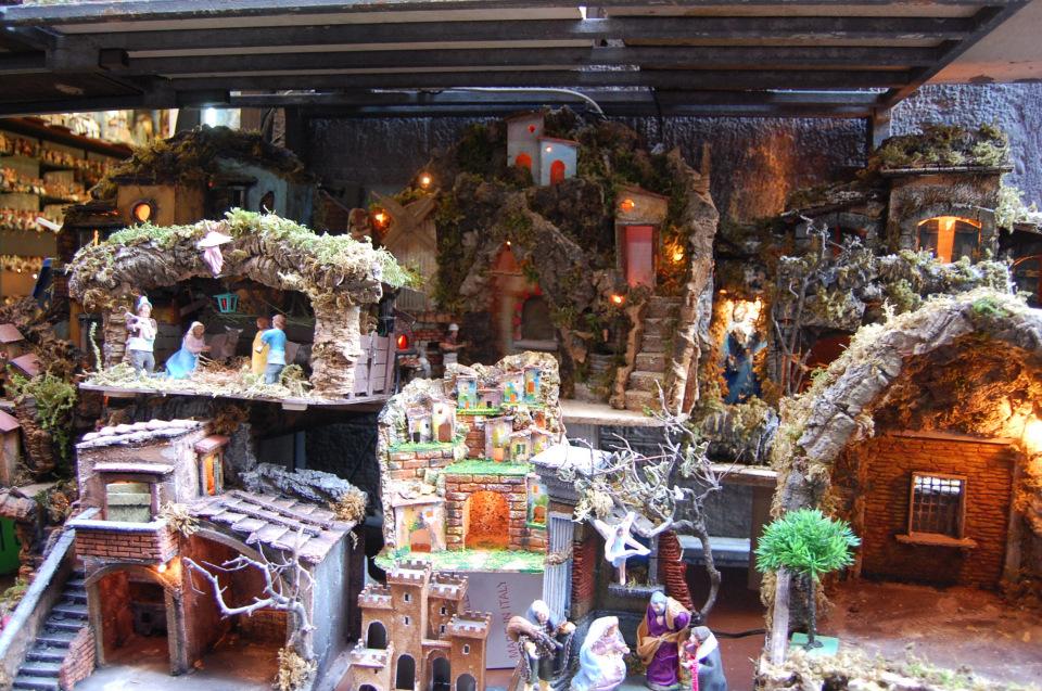 Рождественские ясли на San Gregorio Armeno