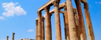 Храм Зевса Олимпийского в Афинах, Греция