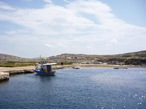 Остров Делос, Греция