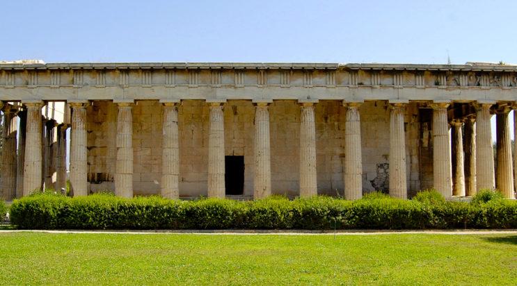 Храм Гефеста в Греции