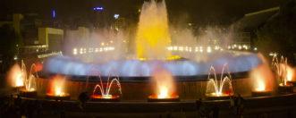 Волшебный фонтан Монжуик в Барселоне