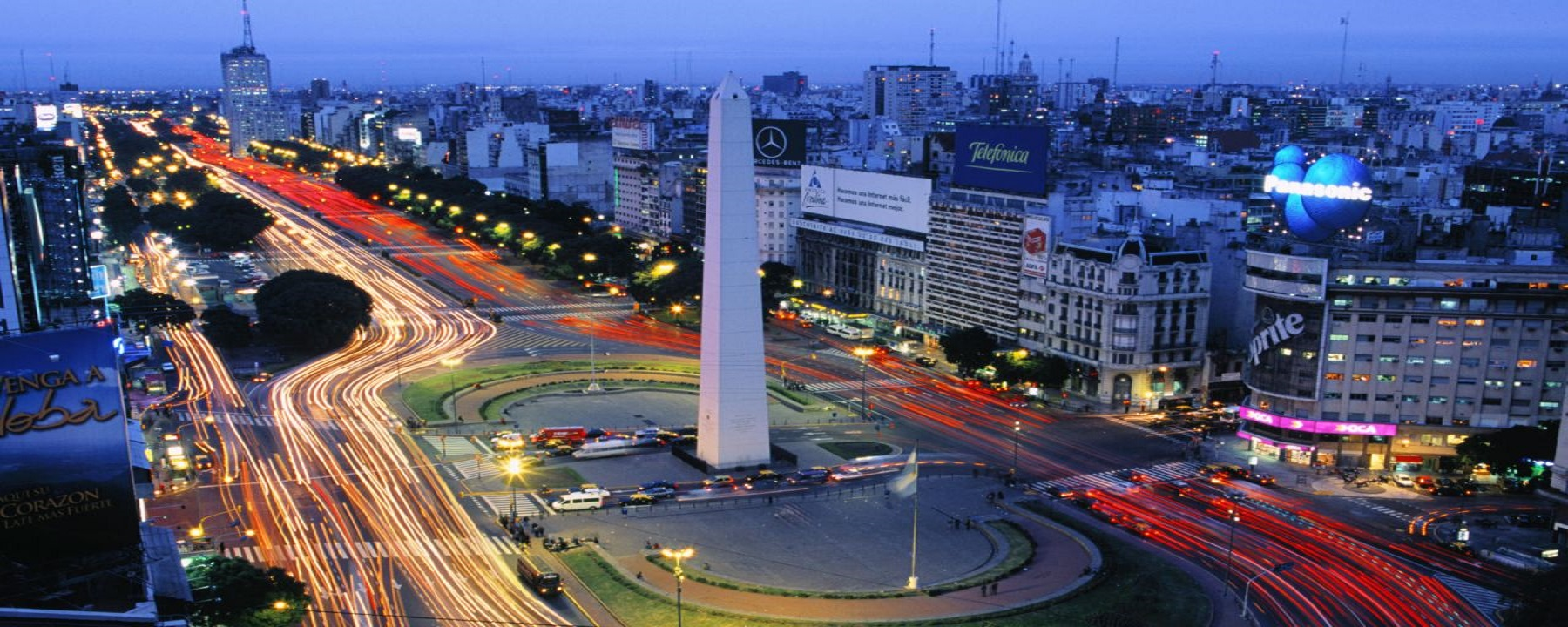 an overview of the city of buenos aires in argentina