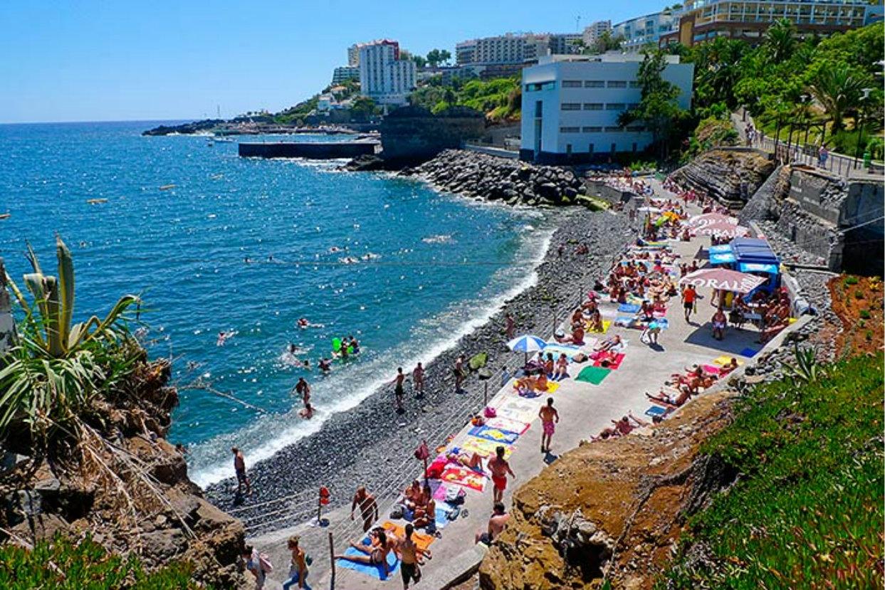 только традиционные пляжи в мадейра фото вас