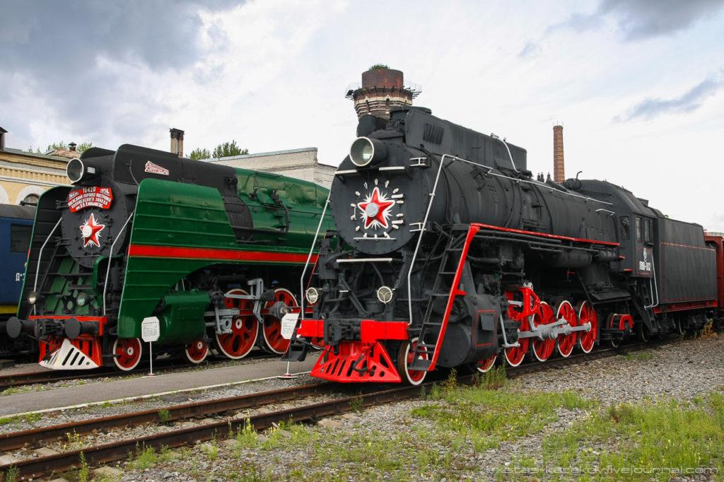 Музей паровозов в Санкт-Петербурге